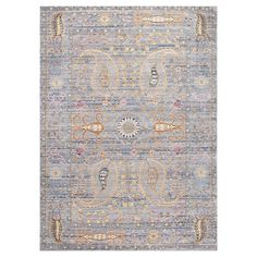 nuLOOM Machine Made Vintage Killian Rug