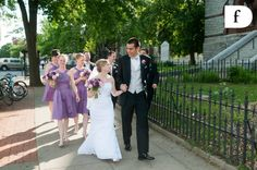 Married! On their way back to the hotel #weddings #hotelnorthampton #derekfowlesphotograpy