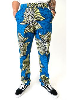 Ankara Print Trouser More info and prints on website #ShopAyo