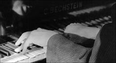 Bartók at his Bechstein, 1936