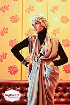 Style Spotted : Ms. Inna Rovita | Hijab Scarf