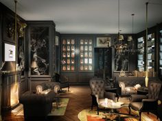 Smokers Room @ Kameha Grand Zürich