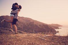 LOVE this engagement story.  Catalina Island engagement   100 Layer Cake