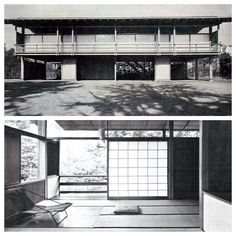 kenzo tange's own house 1953