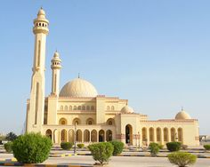 BAHRAIN – Al Fateh Grand Mosque, Manama, Capital governorate. It's located off of Rd. 2407 in the Block 324 neighbourhood. Islamic Architecture, Beautiful Architecture, Manama Bahrain, Kingdom Of Bahrain, Dubai, Beautiful Mosques, 1 Bedroom Apartment, Grand Mosque, The Beautiful Country