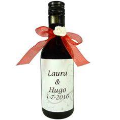 Botellas de vino personalizadas para bodas Goodies, Wine, Drinks, Bottle, Wedding, Wedding Gifts, Sweet Like Candy, Drinking, Valentines Day Weddings