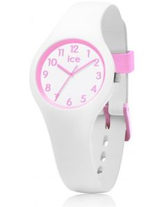 Montre Junior Ice Watch Ola Kids Candy White 015349 Ice Watch, Bracelet Silicone, Cool Watches, Bracelet Watch, Candy, Instructions, Pink, Mauve, Accessories