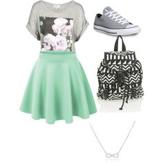 First+Day+of+School+Outfit | fashion first day of school outfits first day of school outfit created ...