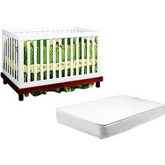 Another nice, affordable mod-style crib.  $299 at Walmart.  I like this one.