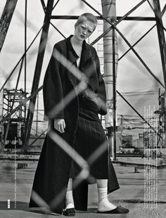 """Ruth Bell stars """"Ruth"""" by Lachlan Bailey for Dazed Fall 2015 [editorial]"""