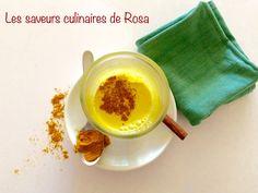 Golden latte ou le lait d'or (au curcuma)