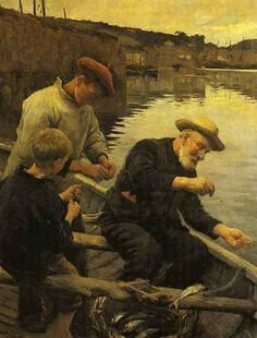 """Stanhope Forbes - """"Newlyn"""""""