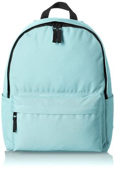 4a7b8cc2b Extra Off Coupon So Cheap Basic Classic Aqua Backpack Simple Bookbag  Student School Bag College Daypack
