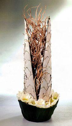 Flower Arrangement by Stef Adriaenssens