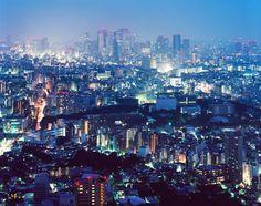 Big Tokyo XXII by godfrog Via Flickr: Looking from Ikebukuro towards Shinjuku, Tokyo. Chamonix 045N-2 Fujinon A-240/9 Kodak Ektar 100
