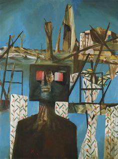 Sidney Nolan: After Glenrowan Siege (Second Ned Kelly series) Australian Painting, Australian Artists, Sidney Nolan, Modern Art, Contemporary Art, Ned Kelly, Pretty Art, Moma, Beautiful Paintings