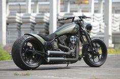 Harley-Davidson Motorcycles / Thunderbike Verdigris (Harley-Davidson Softail)