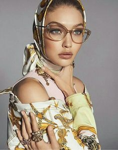 b540c6aff3 Versace Tribute Collection Featuring Gigi Hadid at Designer Eyes
