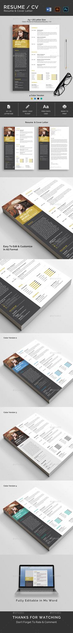 Resume 28 best Resume Templates images on