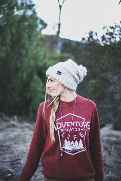 Adventure that is Life - Cozy sweaters that give back :)