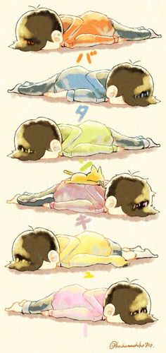Osomatsu-san #planking