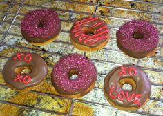 Valentine mini donuts