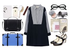 """Boarding School Chic"" by thestyleartisan ❤ liked on Polyvore"