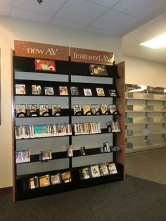 New AV and featured AV. This is part of our remodeling.