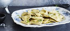 Goat Cheese and Lemon Ravioli