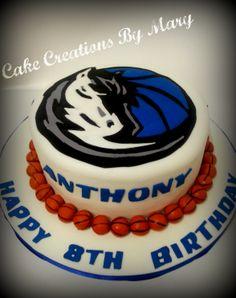 Dallas Mavericks Cake