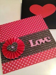 Xyron Design Team Member Tammy Caudell's Valentine's Day Card