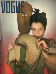 Seaman Schepps jewels on the cover of Vogue, February 1940