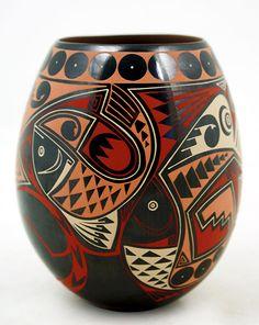 Mata Ortiz Pottery, Eli Navarrete