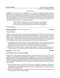 click here to download this project coordinator resume template httpwww - Construction Project Manager Sample Resume