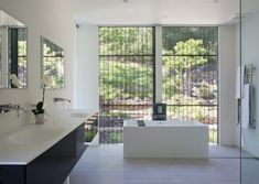 Projects | Klopf Architecture House Design, Traditional House, Home, Gorgeous Bathroom Designs, House Styles, Traditional Style Homes, Modern Spaces, Beautiful Bathrooms, House And Home Magazine