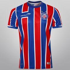 1348245fd9 Camisa Penalty Bahia II 2015 s nº - Azul+Vermelho Esporte Clube Bahia