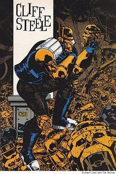 Cliff Steele/Robotman by Richard Case and Tom McCraw Z Trip, Comic Art, Comic Books, Wonder Twins, Doom Patrol, Dc Comics Art, Book Images, Hero Arts, Marvel Characters