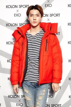 EXO Se Hun | Kolon Sport Pre - Winter Party 9.19.14