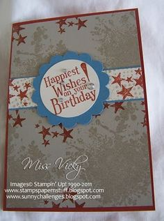 Stampin' Up!®: Cards - Male