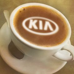 Every morning should begin with coffee and Kia.
