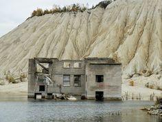 Deserted Places: The underwater Soviet Rummu prison in Estonia