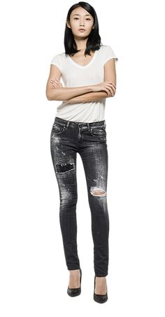 Maestro Rose skinny-fit jeans