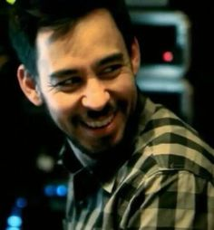 "Mike Shinoda - Linkin Park this is practically guaranteed to be the most beautiful smile i see all day....unless i meet him. ""sigh"""