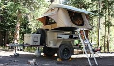 This is the coolest pop-up camper ever made