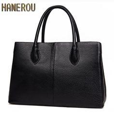 100% Genuine Leather Women Bag New Autumn Socialite Ladies Handbags Fashion Designer Handbag High Quality Famous Brands Tote Bag