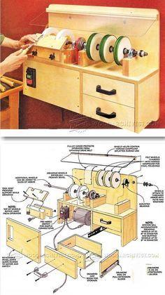 DIY Sharpening Station - Sharpening Tips, Jigs and Techniques | WoodArchivist.com