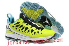 Acheter Chaussures Air Jordan CP3.VI Nitro Volt Sky Bleu Blanc |JordanAeroMania.com