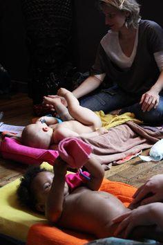 Les bienfait du massage bébé