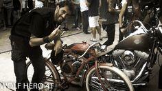 Participação da Bicicleta Motorizada WOLF HERO 4T CAFE RACER no encontro DODGE em O Conde Barbearia - Parabéns a toda equipe ACDC COVER - Dirty Jack ACDC Cover ( perfeito show) , Edu Rock Trio, Hamburger Blendz, Cerveja Rock na Teia