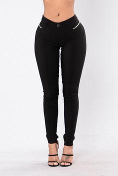 How You Doin' Pants - Black | Fashion nova
